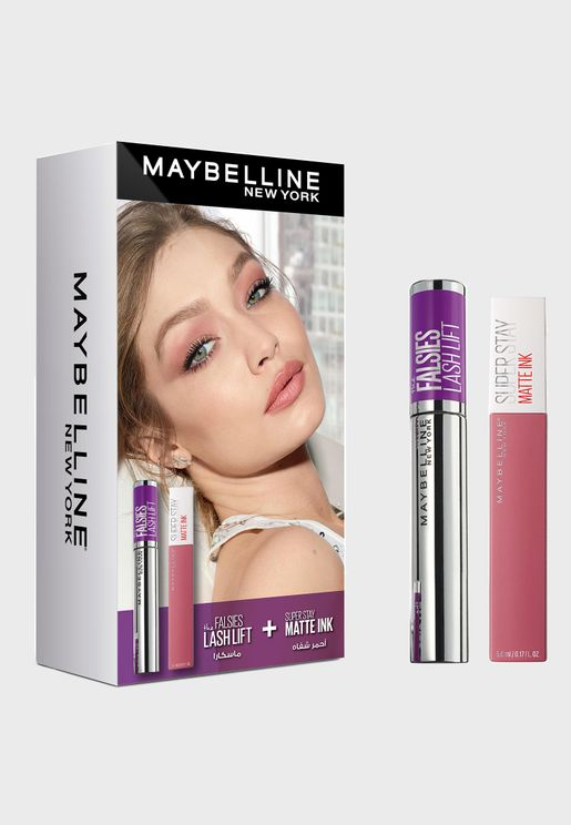 Falsies Mascara + Superstay Matte Liquid Lip, Saving 25%