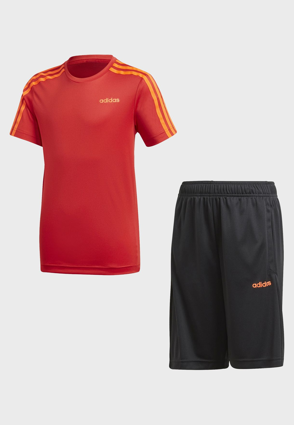 Youth Aero Ready 3 Stripe Set