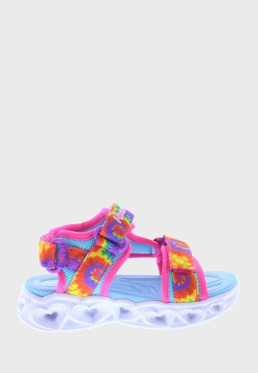 Infant Heart Lights Sandals