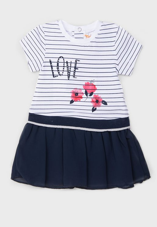 Kids Striped Dress