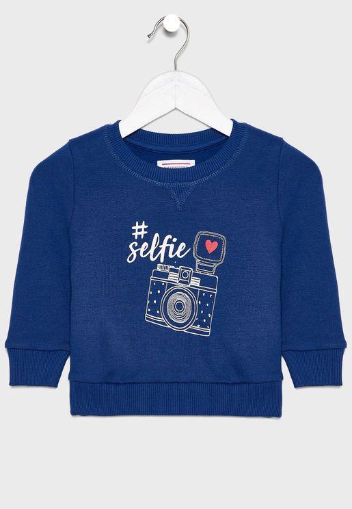 Infant Selfie Sweatshirt