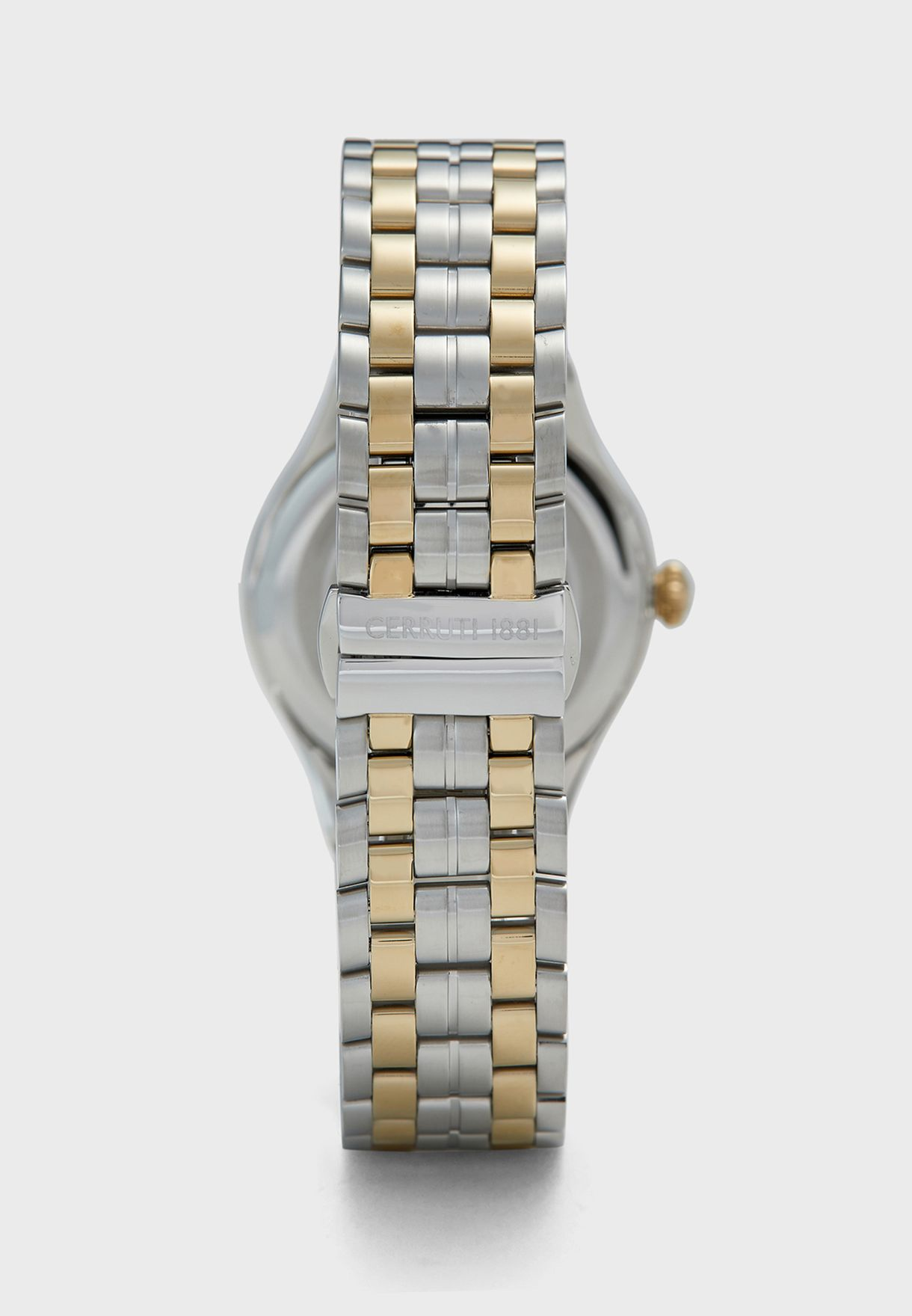 Modica Steel Strap Analog Watch