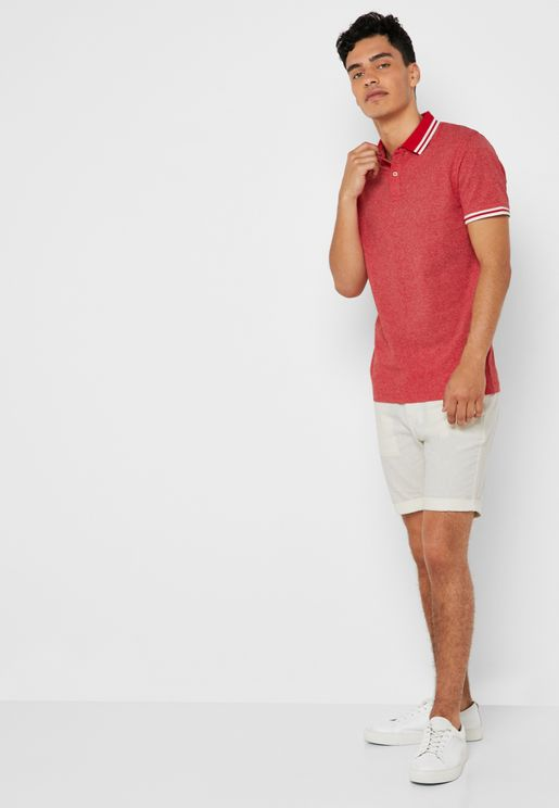 Straight Paris Linen Shorts