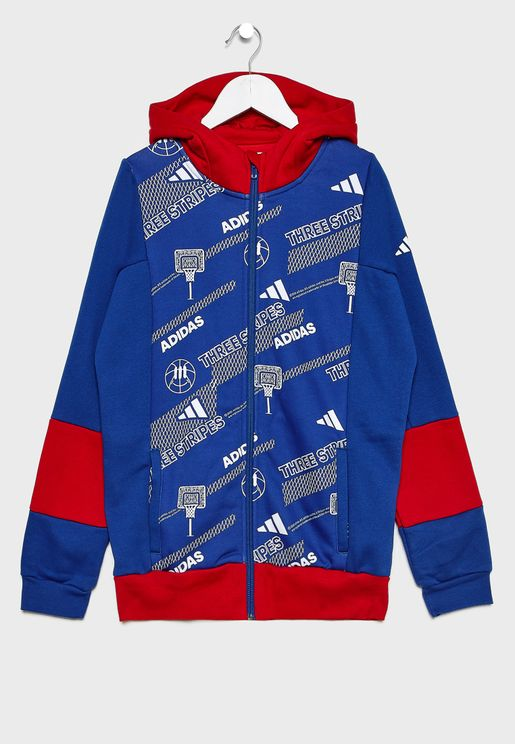 Youth Aero Ready Fleece Track Jacket