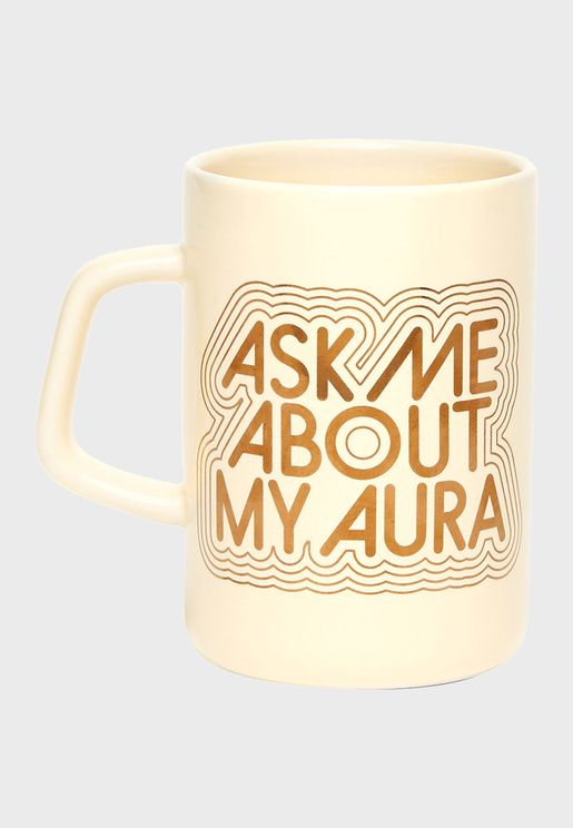 Aura Hot Stuff Big Ceramic Mug