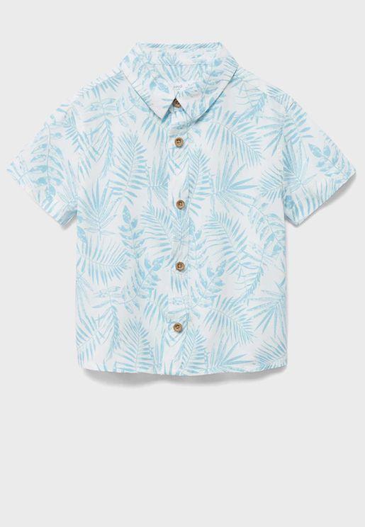 قميص بطبعات جرافيك