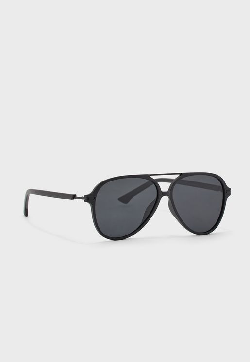 Casual Aviator Sunglasses