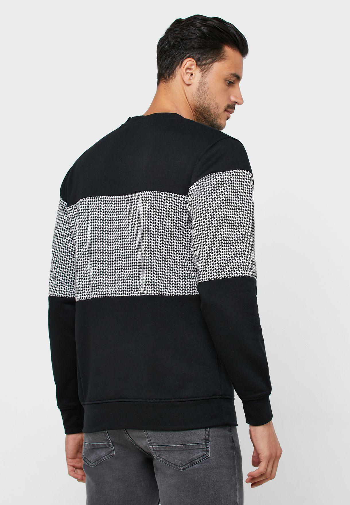 Hounds Color Block Sweatshirt