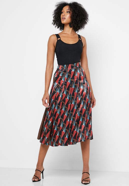 0c4cc428c6 Midi Skirts for Women | Midi Skirts Online Shopping in Dubai, Abu ...