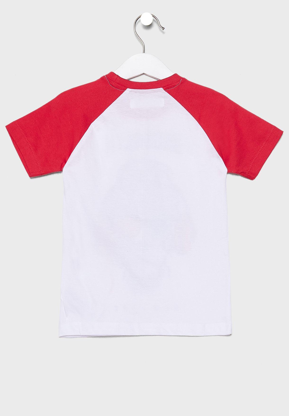 Teen Raglan Graphic T-Shirt