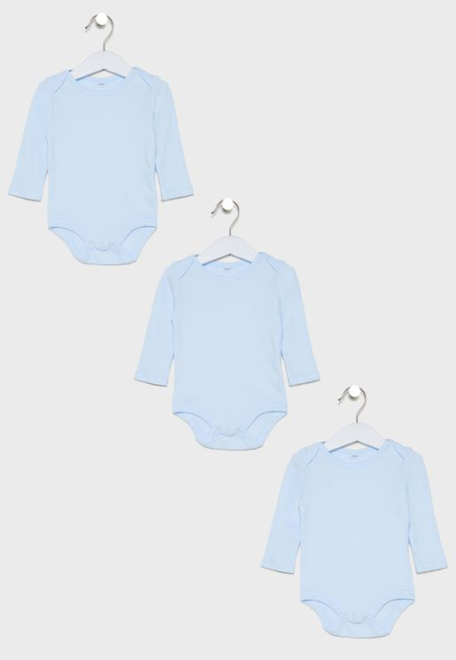 Infant 3 Pack Bodysuit