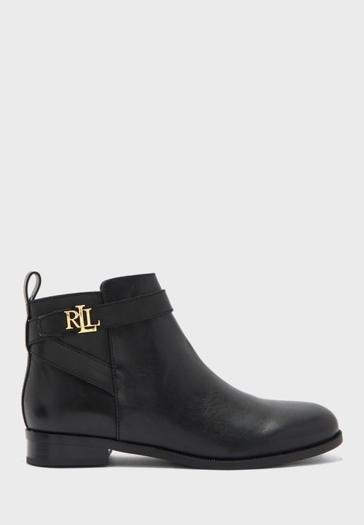 Bonne Low Heel Ankle Boot