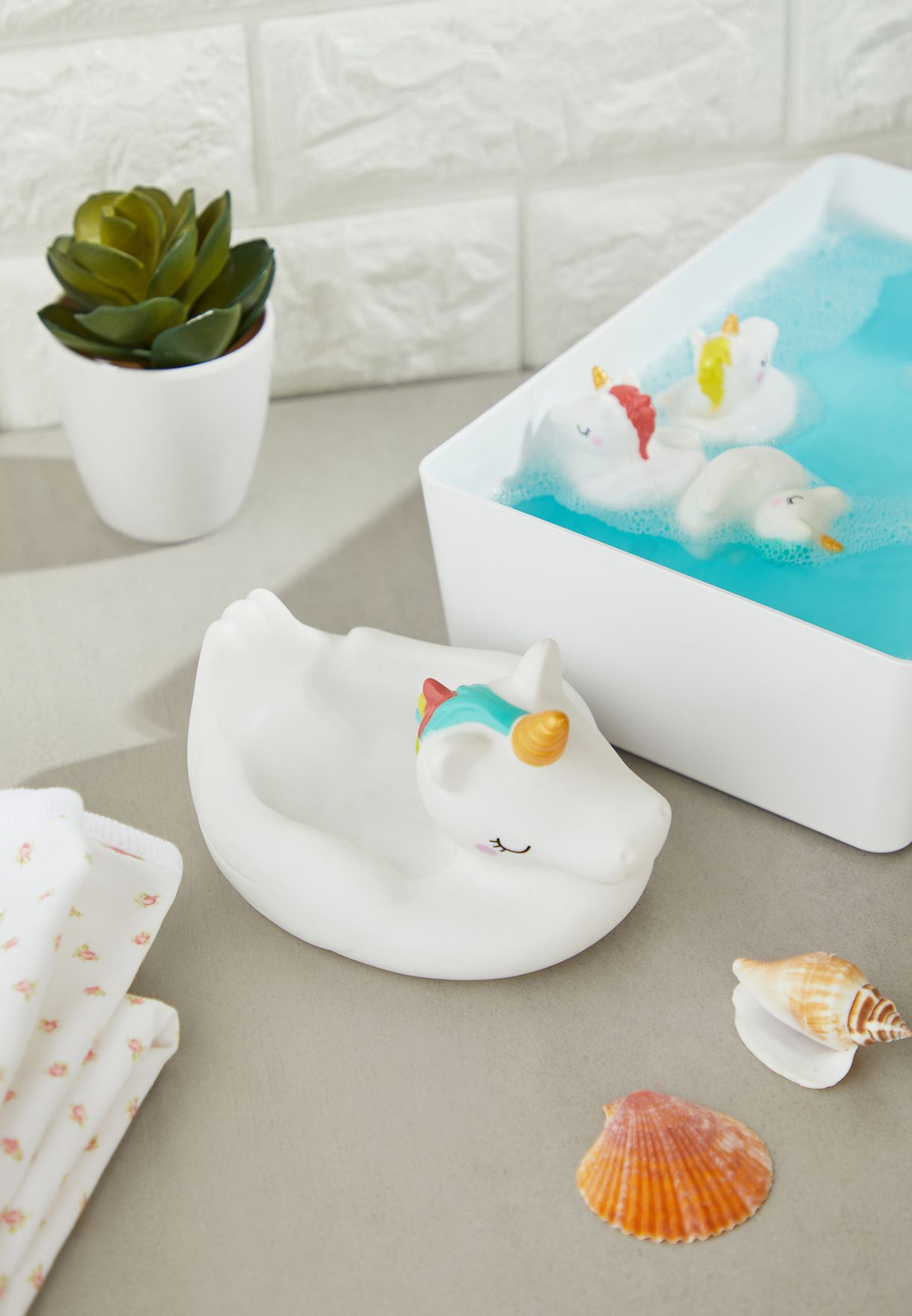 3 Pack Unicorn Bath Toy