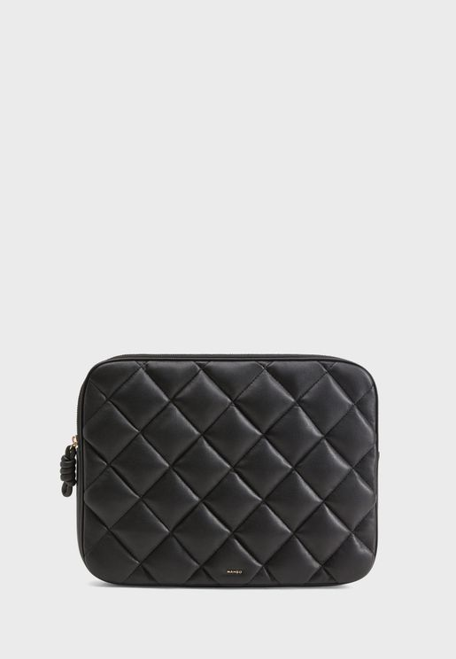 Pufi Quilted Cosmetic Bag