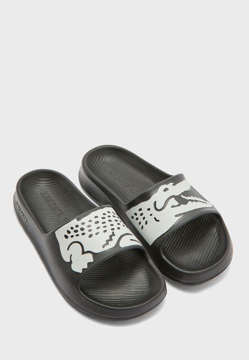Croco Flip Flop