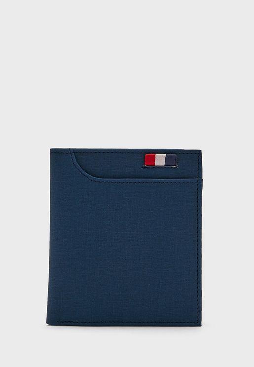 Bi Fold Leatherette Wallet
