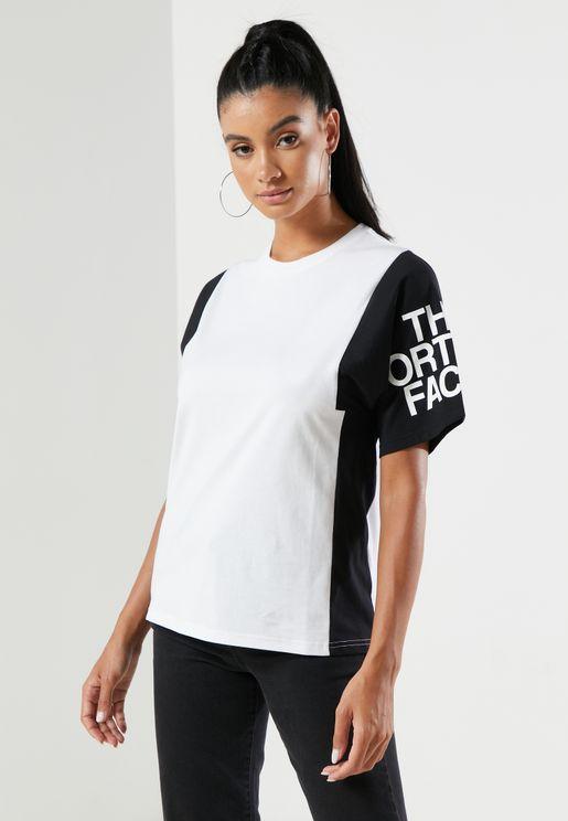Sesh Colour Block T-Shirt