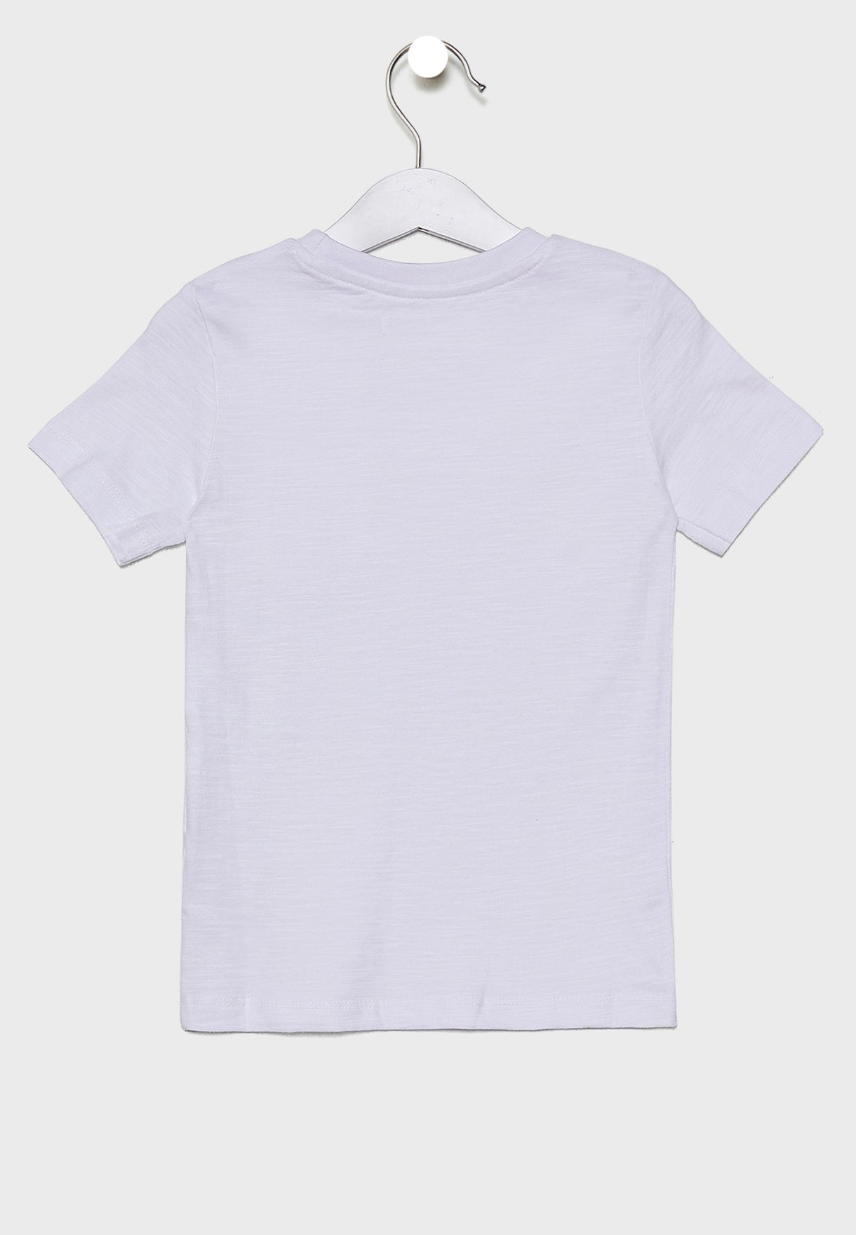 Infant Pocket Detail Crew Neck T-Shirt