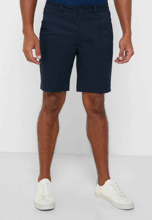 Role Hem Chino Shorts