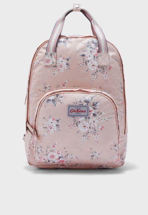 Spitalfields Multi Pocket Backpack