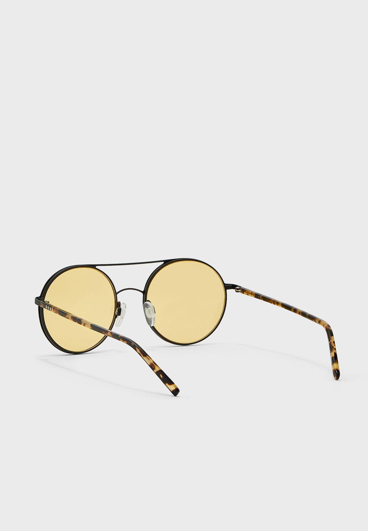 Dk300S Oval Shape Sunglasses