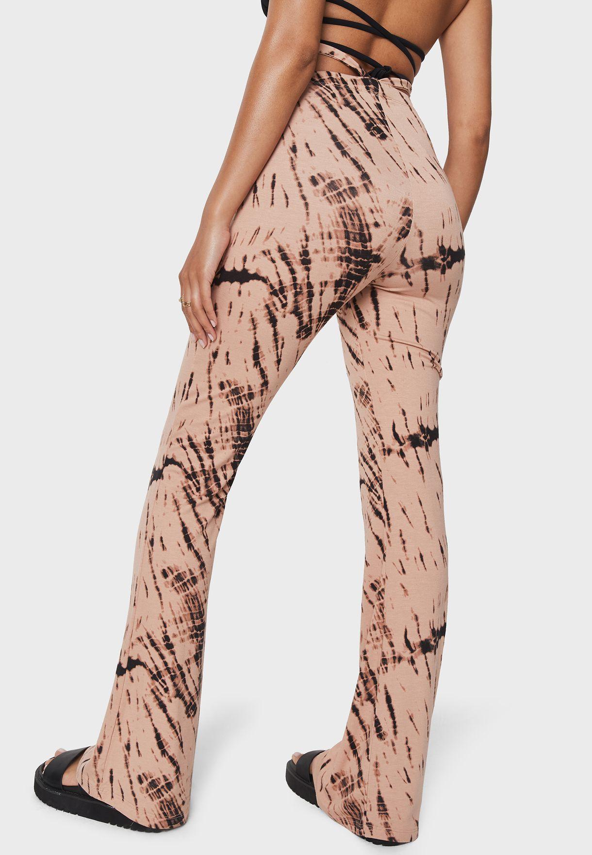 Ribbed Flared Pants