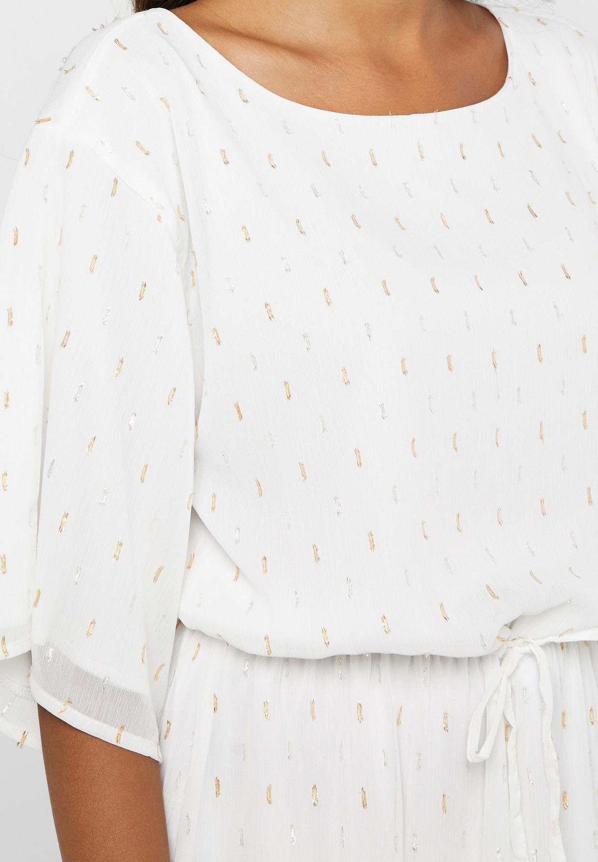 فستان مكسي باربطة