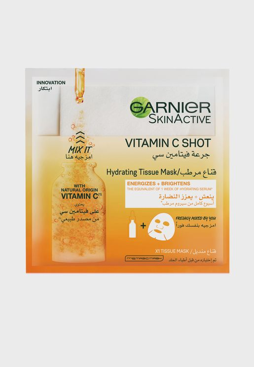 Skin Active Fresh - Mix Tissue Mask with Vitamin C