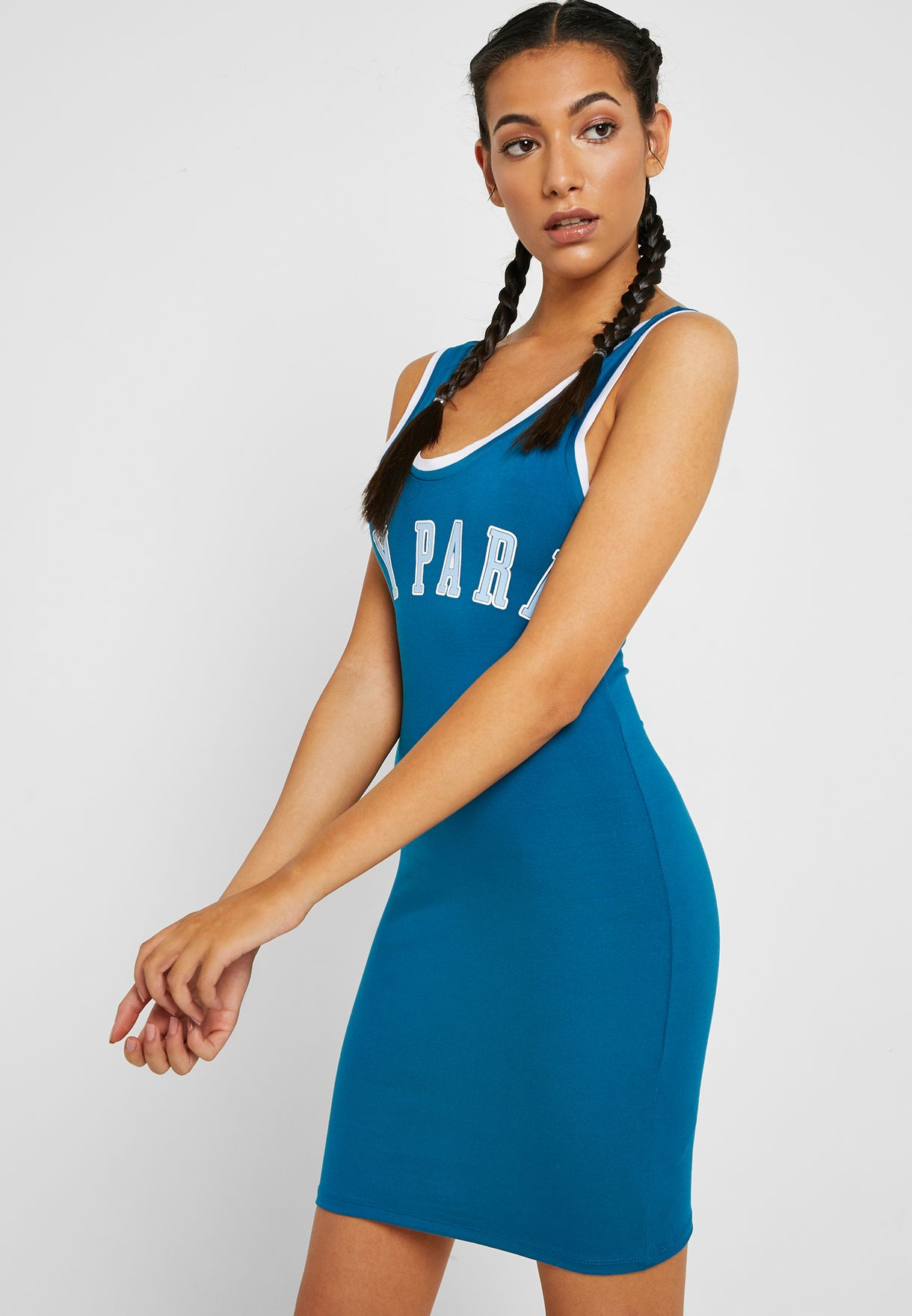 Baseball Bodycon Dress