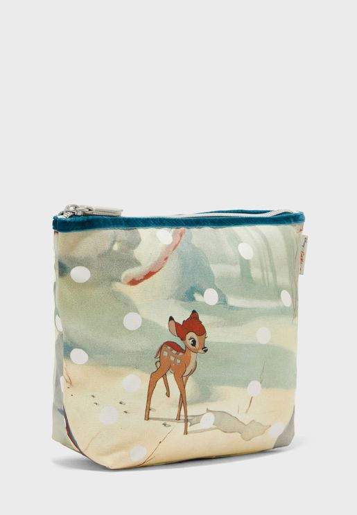 Disney Canvas Cosmetic Bag