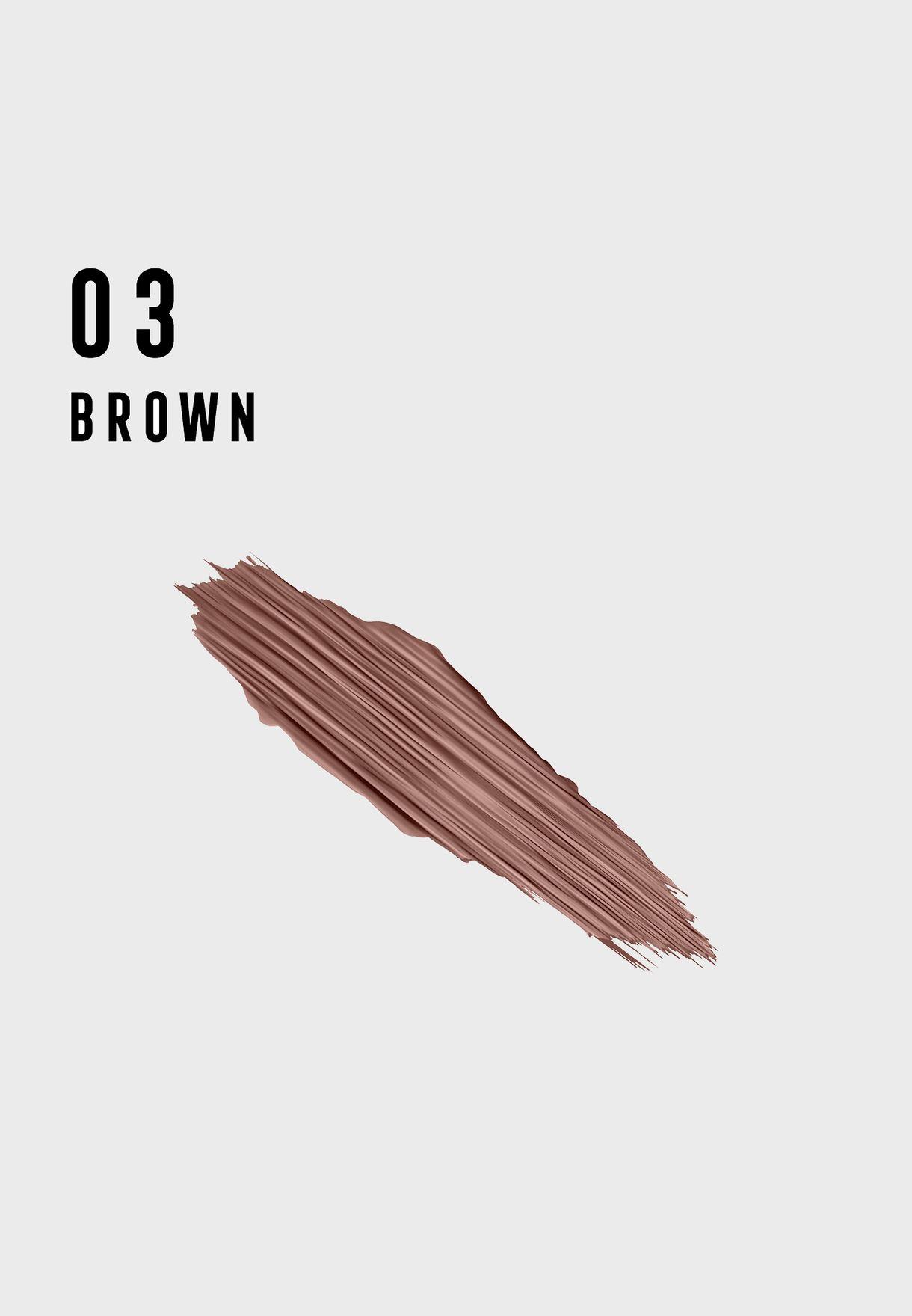 ماسكارا ريفيفيال للحواجب براون 03