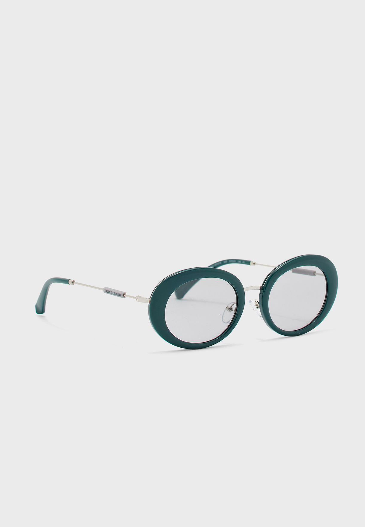 Ckj18701S Round Shape Sunglasses