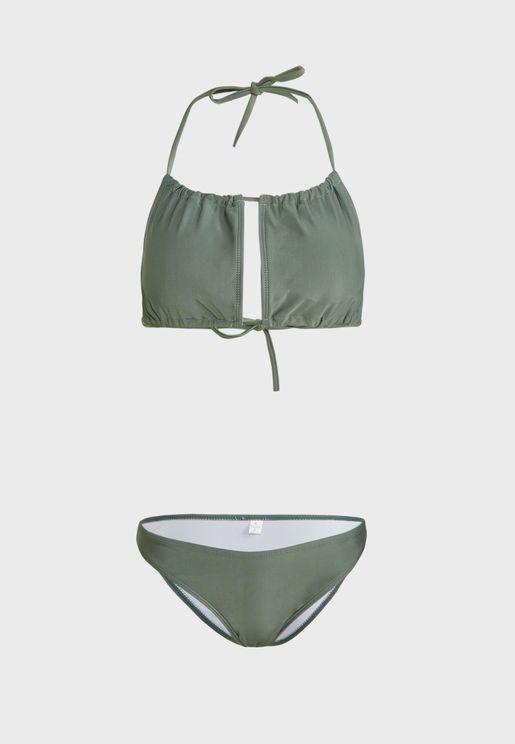 Strappy Bikini Set