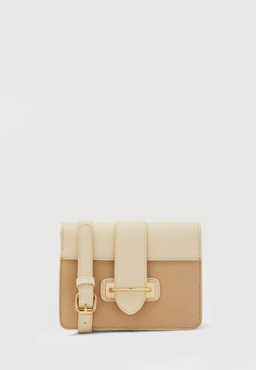 Pina Flap Over Belted Crossbody