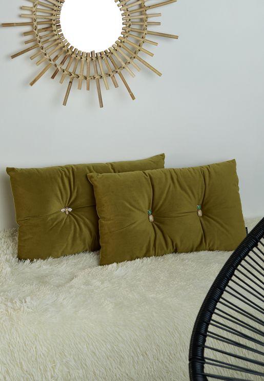 Pineapple Cushion 30X50Cm