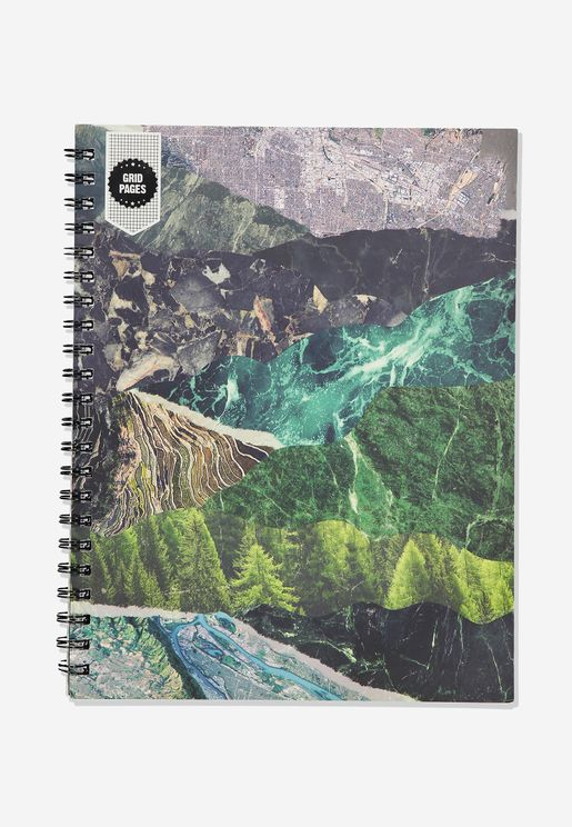 A4 Wilderness Campus Notebook