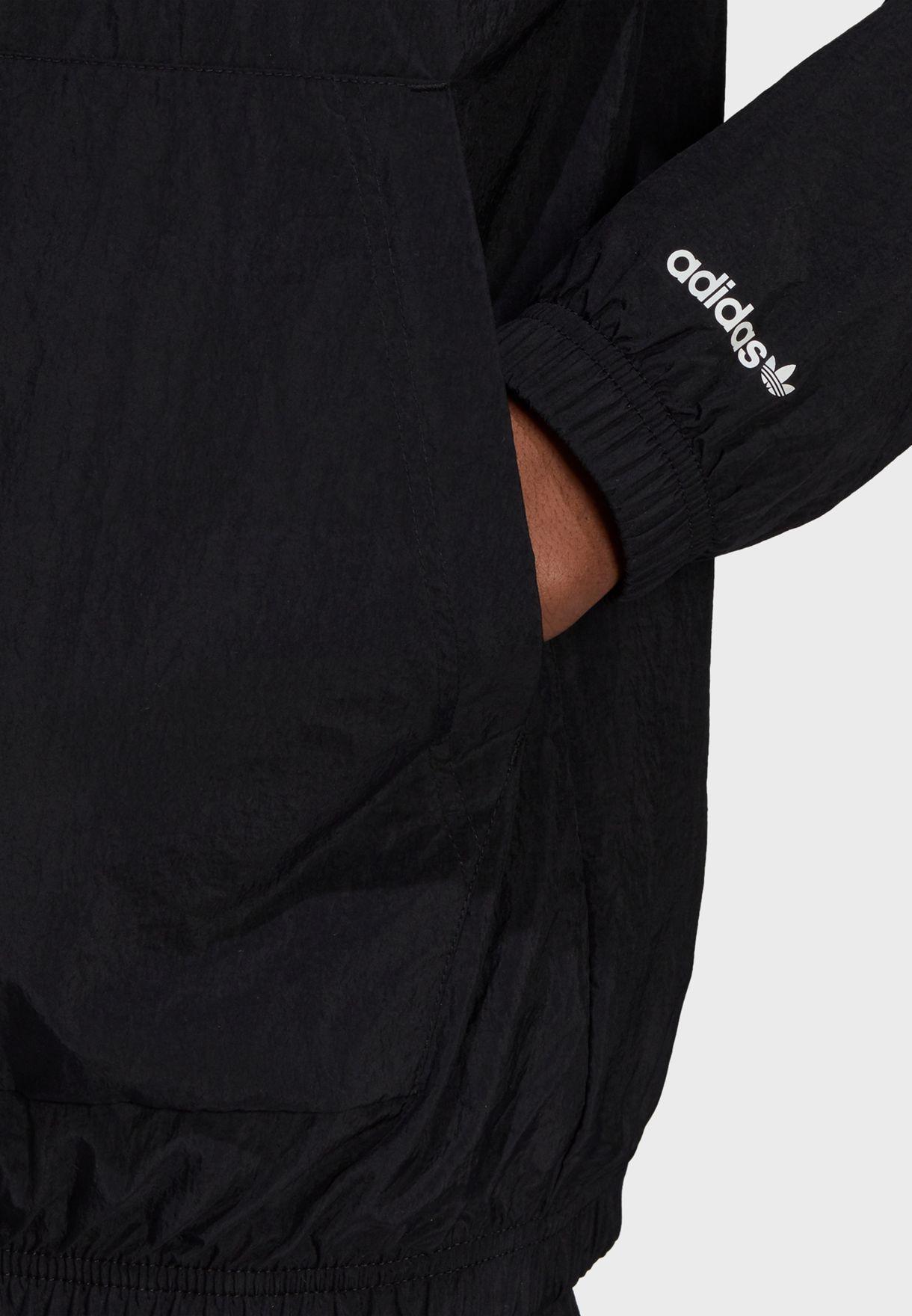 Shattered Trefoil Woven Track Jacket