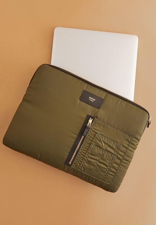 "13"" Pocket Detail Laptop Sleeve"