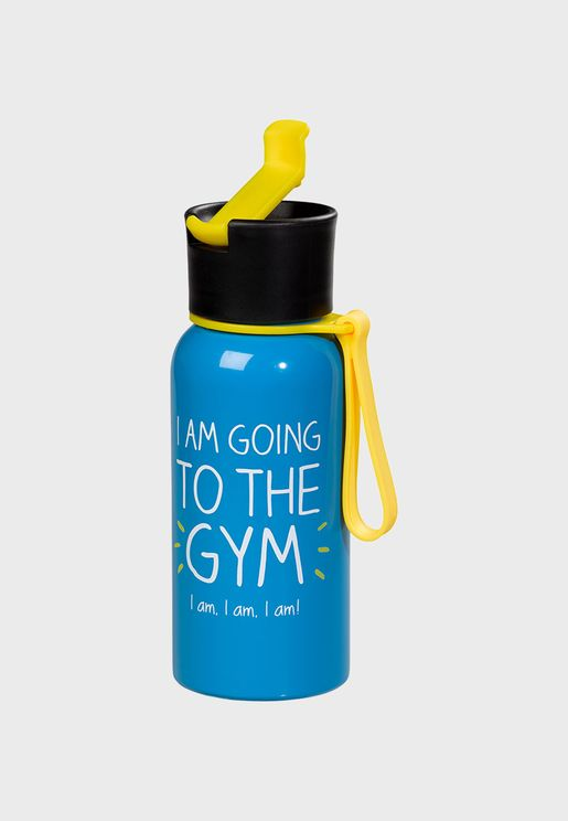 I Am Going To The Gym Water Bottle
