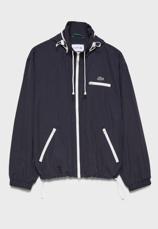Water Resistant Windbreaker Jacket