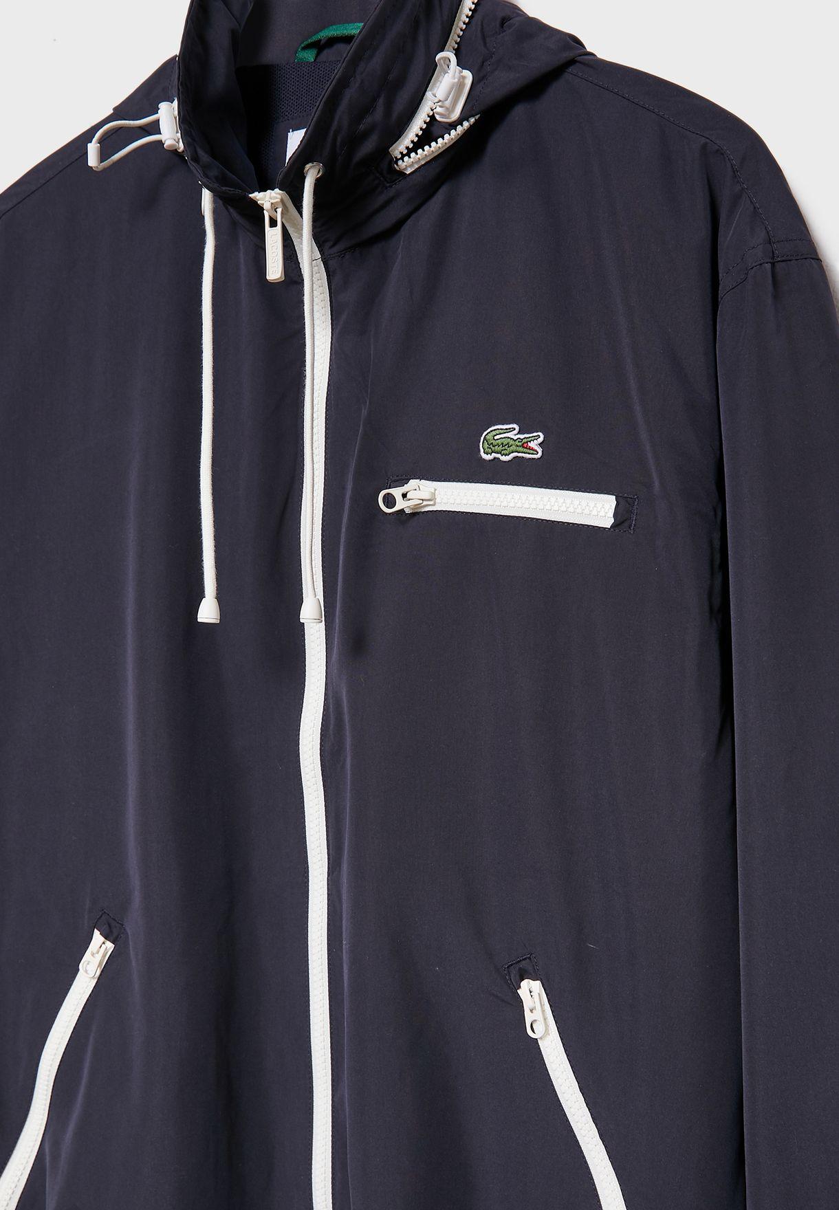 Water Resistant Windbreaker Jacket