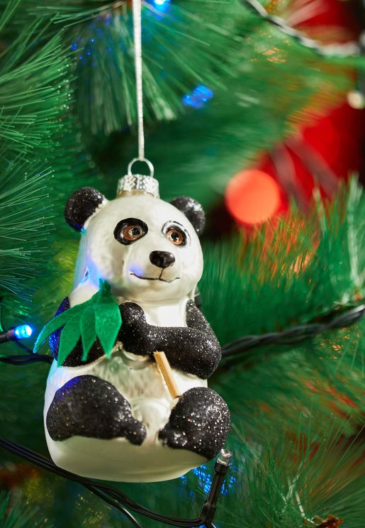 Bamboo Panda Hanging Decoration