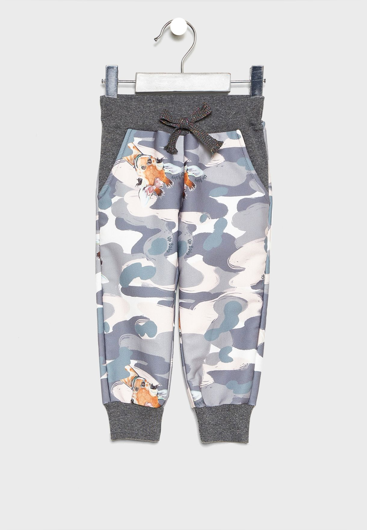 Kids Printed Sweatshirt + Sweatpants Set