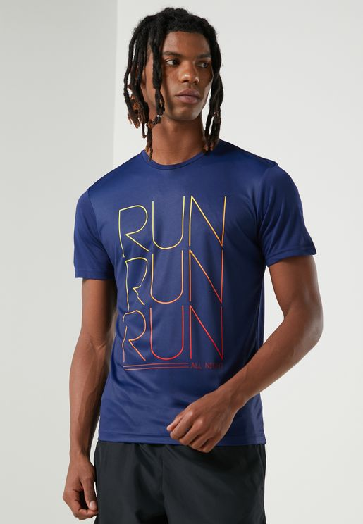 Run All Night Graphic T-Shirt