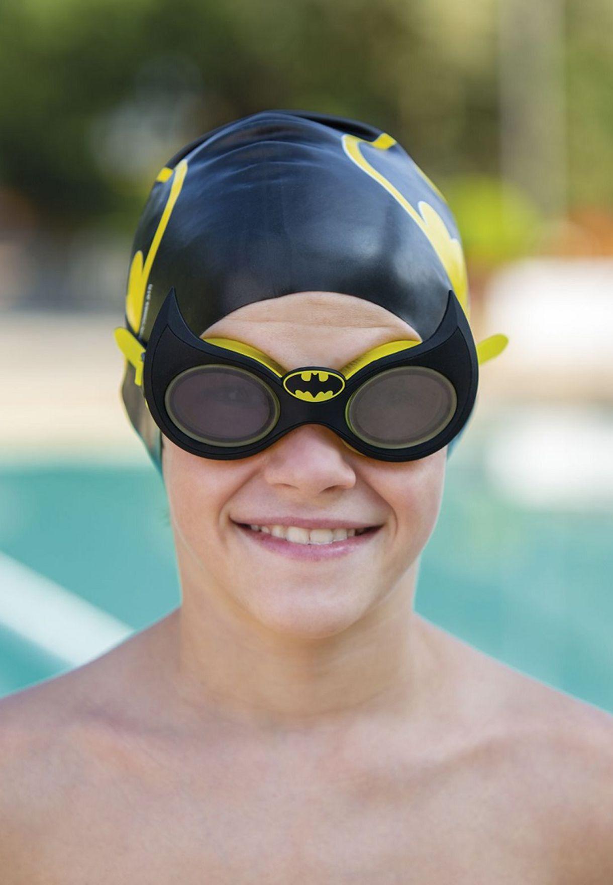 Youth Character Batman Swimming Goggles