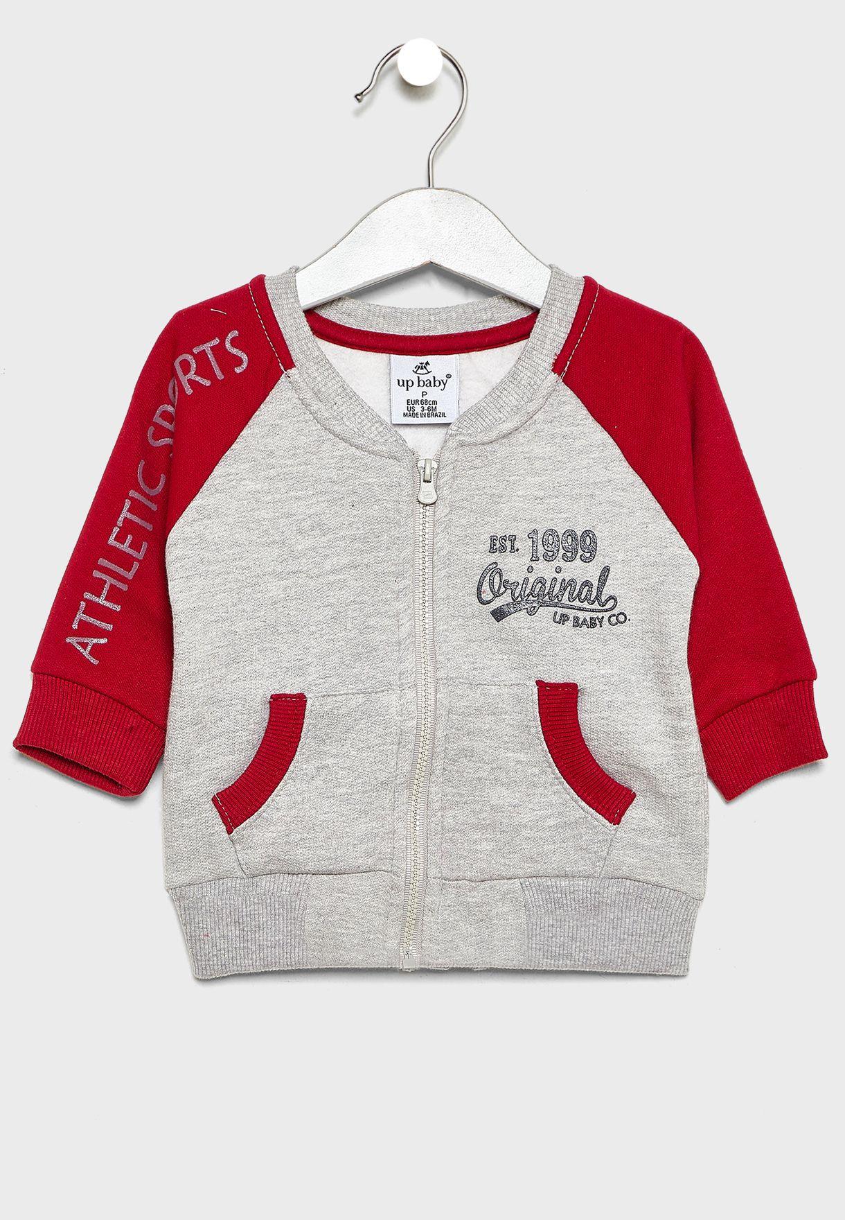 Kids Logo Jacket + Sweatpants Set