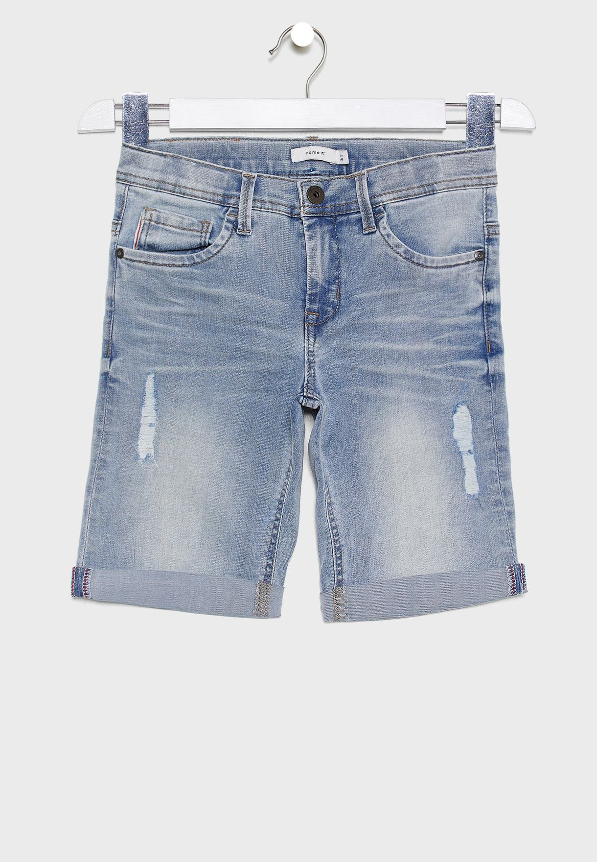 Kids Denim Shorts