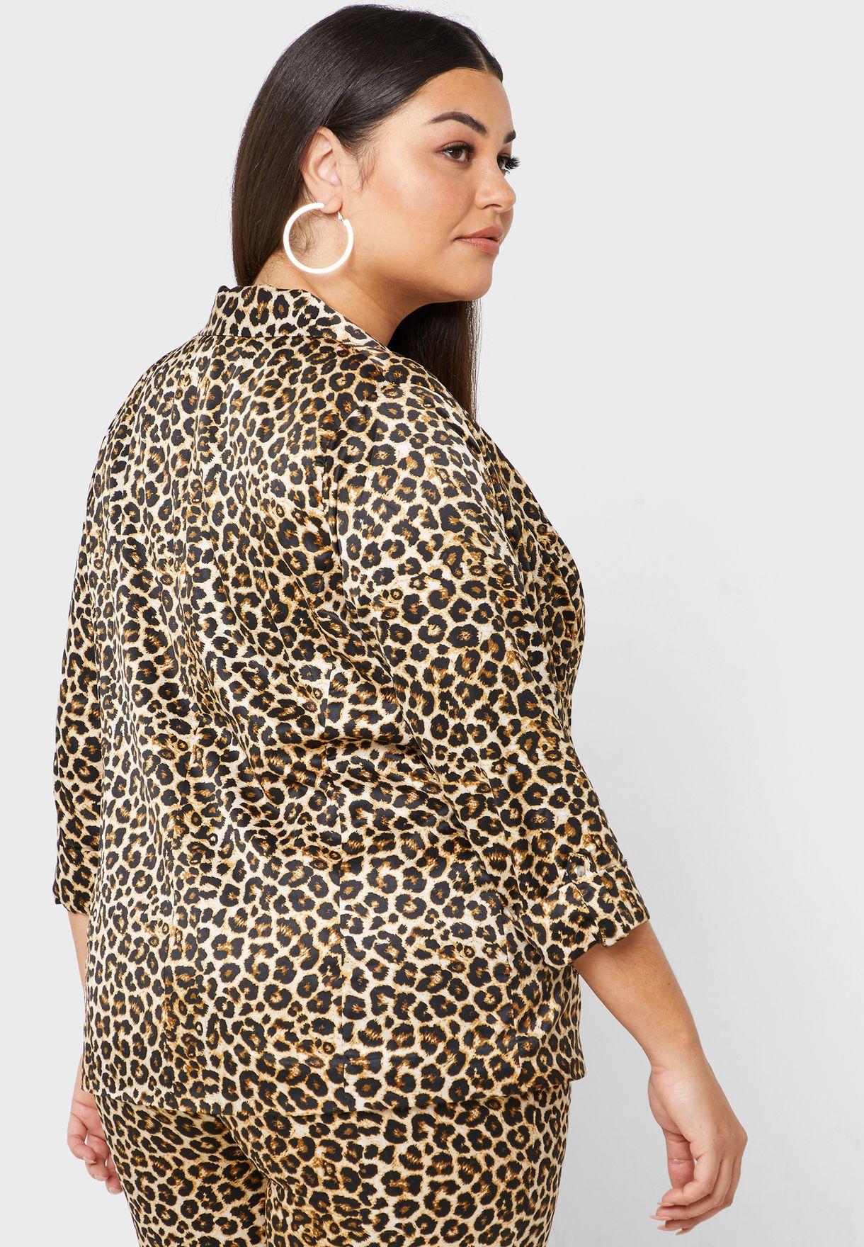 Leopard Print Blazer Co-ord