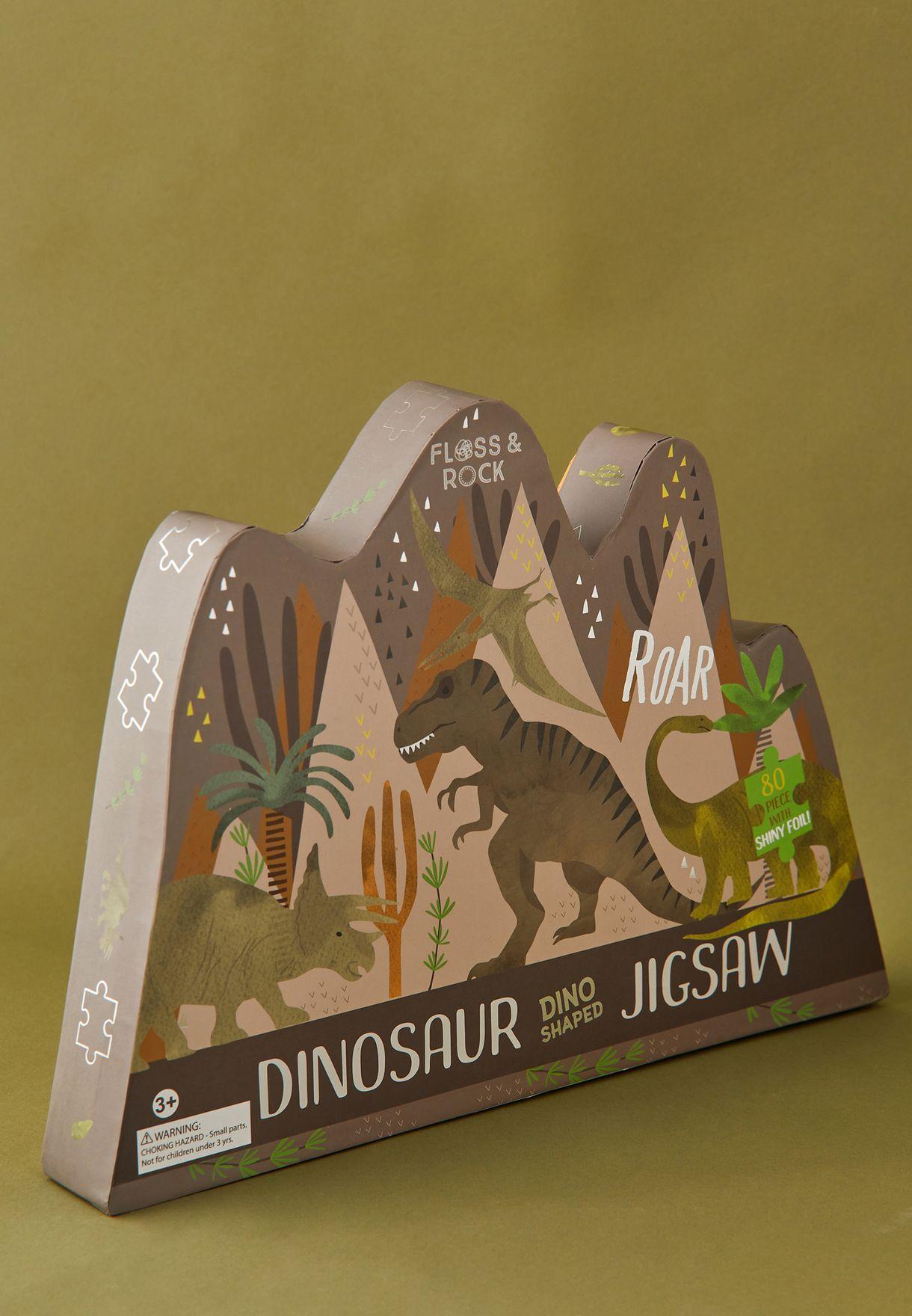 لعبة تركيب ديناصور 80 قطعة
