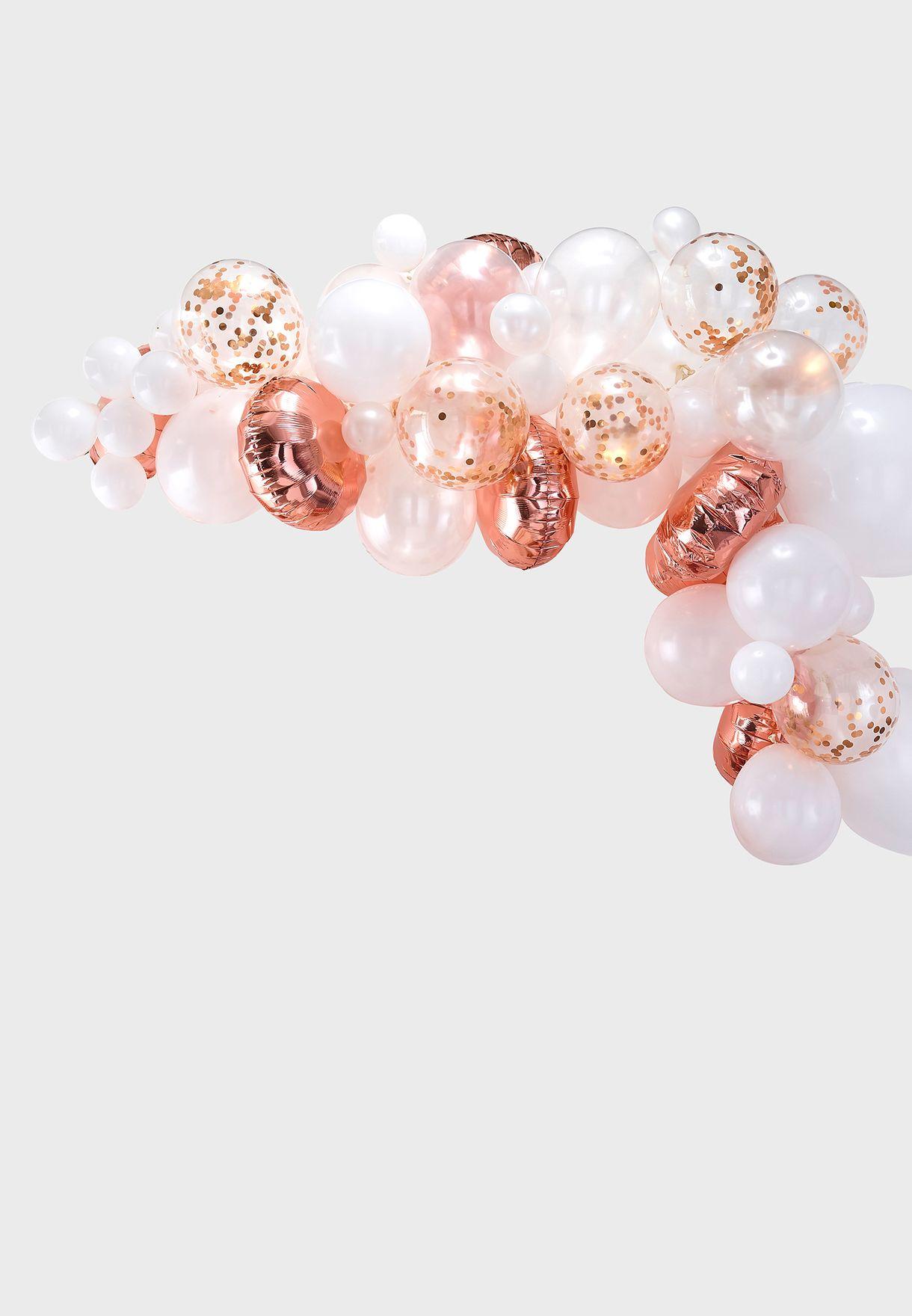 Balloon Arch - Rose Gold
